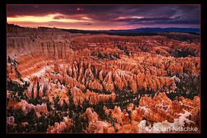Bryce Canyon Sunset by narmansk8