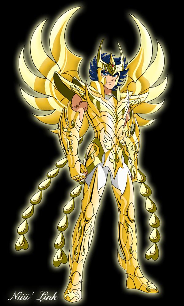 Ikki armure divine du Phoenix by Niiii-Link