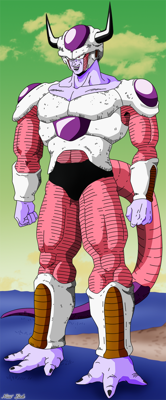 Frieza 2nd Form by Niiii-Link on DeviantArt