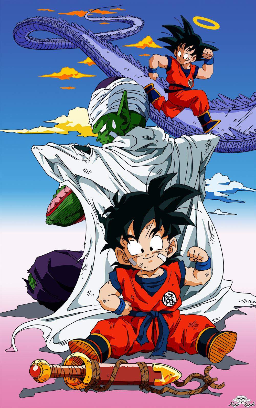 Gohan, Piccolo, SonGoku by Niiii-Link on DeviantArt