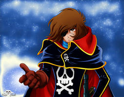 [Captain Harlock] Come with me ! by Niiii-Link