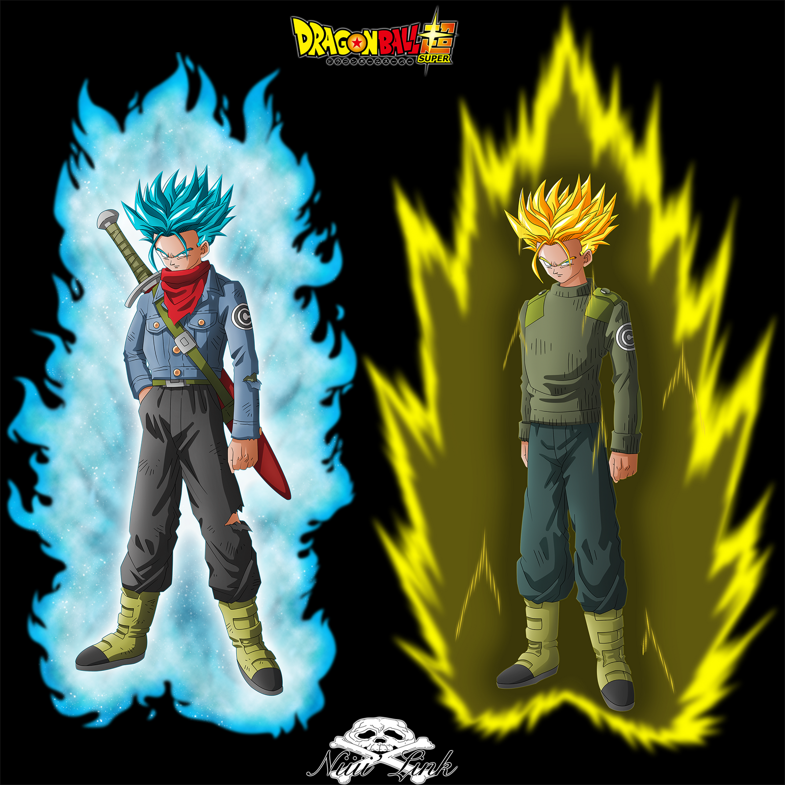 [DBS] Mirai Trunks SSGSS By Niiii-Link On DeviantArt