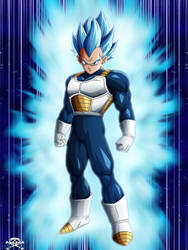 [DBS] Vegeta Ultra Blue