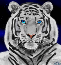 White Tiger by Niiii-Link