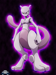 [Pokemon]Mewtwo by Niiii-Link