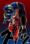 [DBS]Goku Ultra Instinct VS Molo