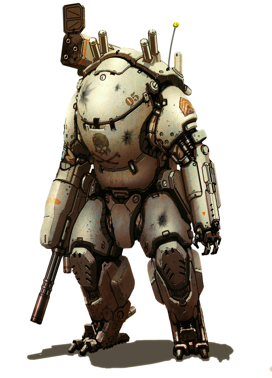 Mech suit by flyingdebris