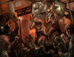 Periphery Gladiators by flyingdebris