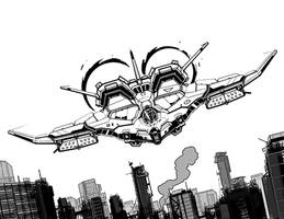 Wusun omnifighter by flyingdebris
