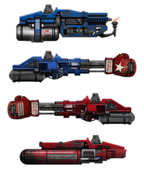 Megabot stretchgoal weapons