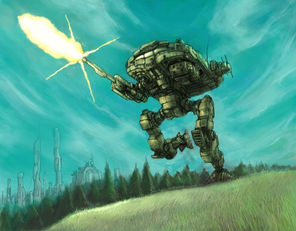 battletech hoplite by flyingdebris