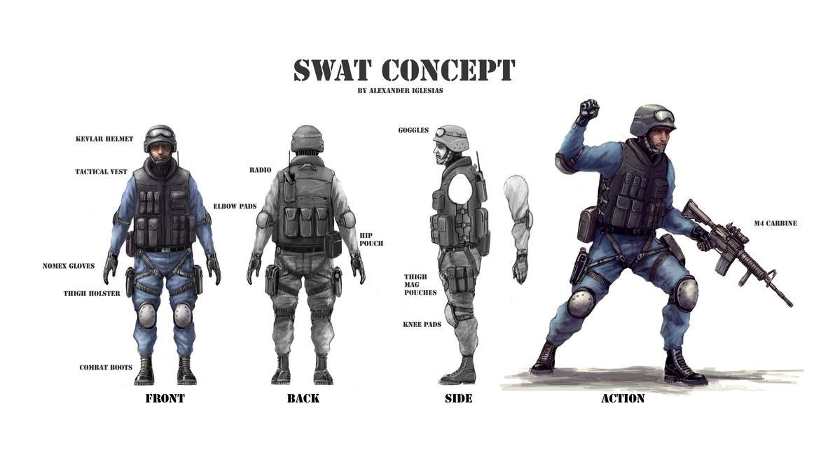 Swat concept by flyingdebris
