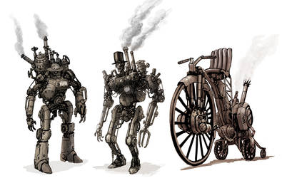 Steampunk by flyingdebris