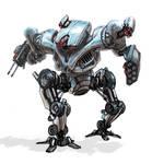 Terminator hunter killer mech