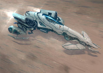 Hover Racer Thingy by flyingdebris