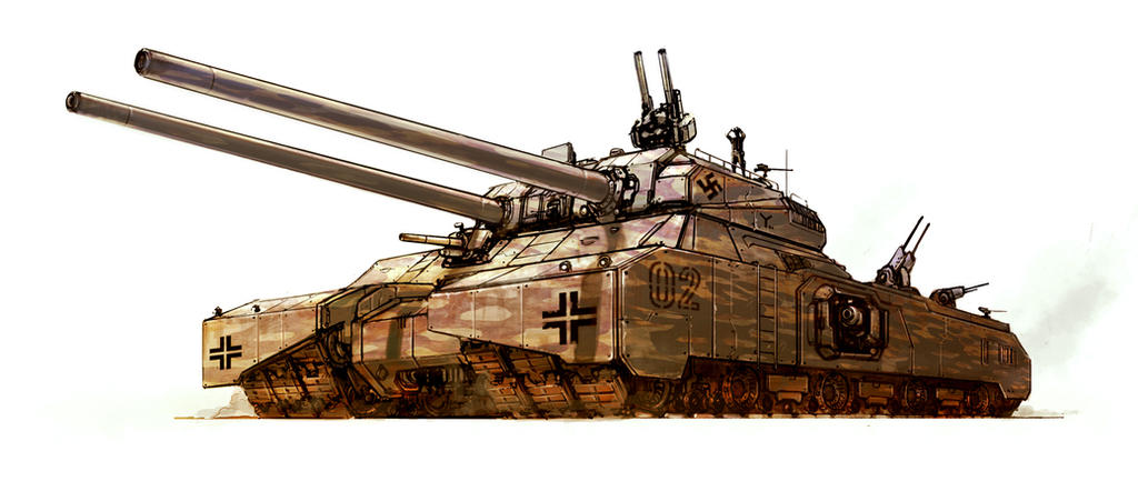 Ratte mk2 by flyingdebris