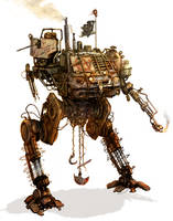 Mad Max mech by flyingdebris