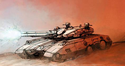 Tank by flyingdebris