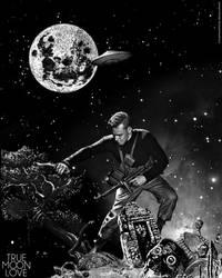Truemoonlove Collage by Clarissa Schwarz