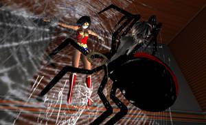 Drider captures Wonder Woman 4