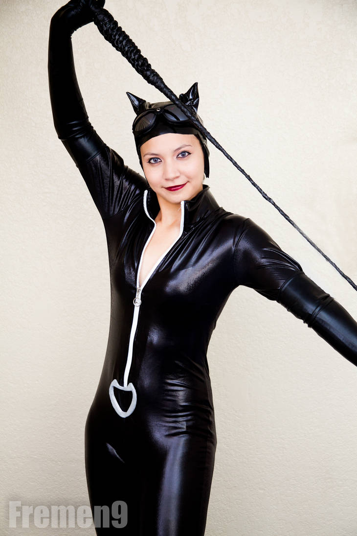 Catwoman Cosplay 6 All about the whip