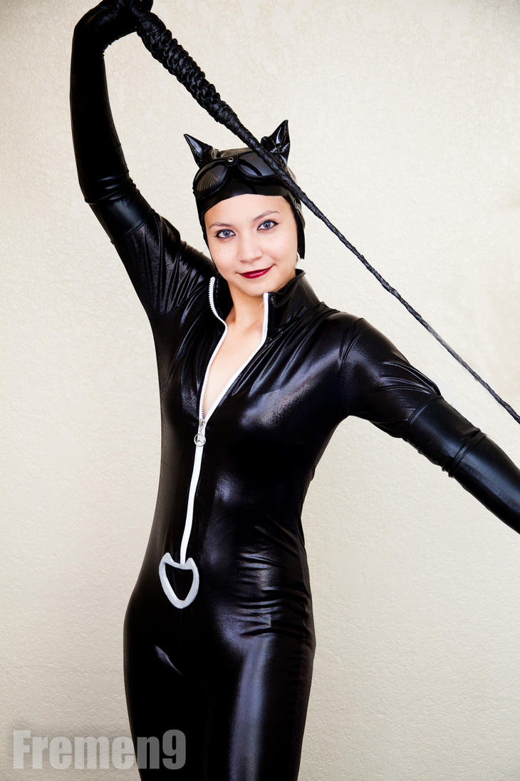 Catwoman Cosplay 6 All about the whip by SapphireEagle