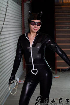 Catwoman Cosplay (Reeling in the goods)
