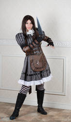Alice Cosplay (Steamdress Aquired)