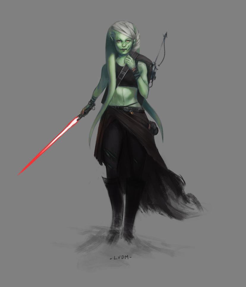 Jedi companion by Waryfox