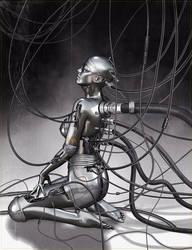 cyborg day dream by deviney