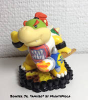 Bowser Jr. Custom 'amiibo' by mightymola