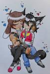Kitty Keef x Bunny Lance [Klance] by NejiShadow