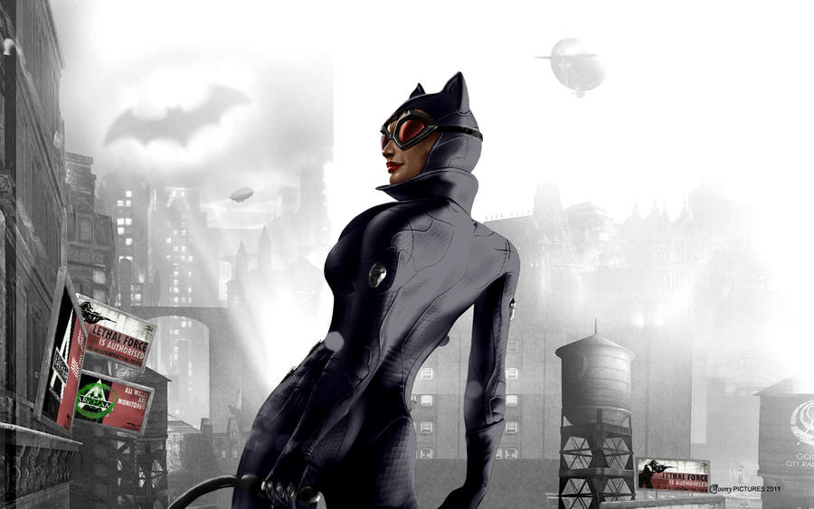 Catwoman In Arkham City By MoonySascha