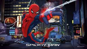 The Amazing Spider-Man Cartoon version by MoonySascha