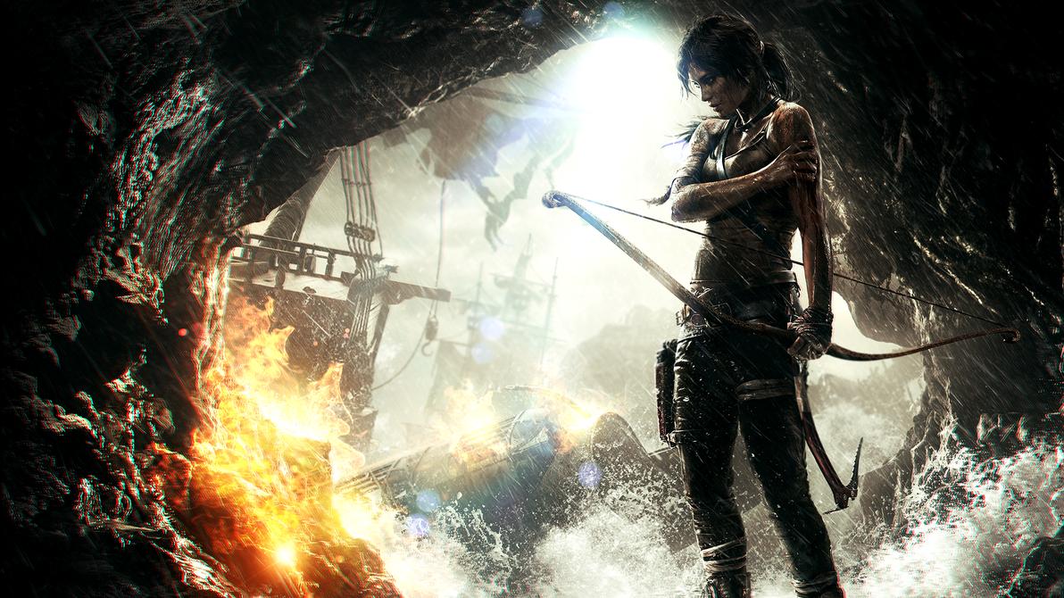 Tomb Raider Wallpaper Photomanip By Enigmarez