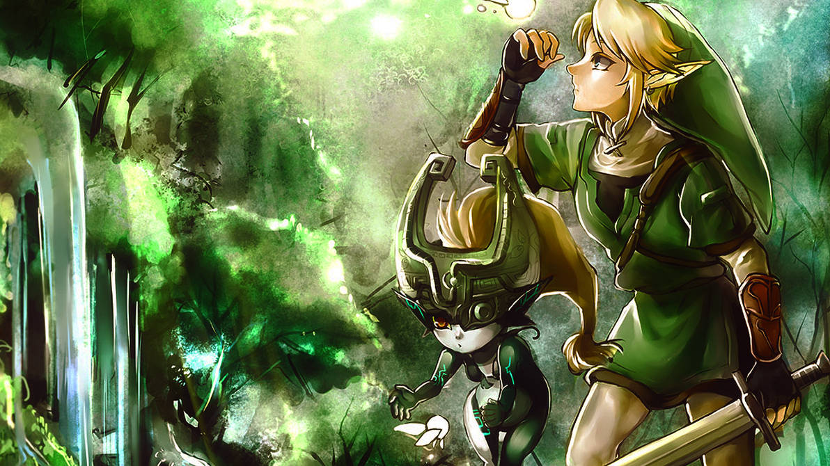 Link and Midna by NyanRuki on DeviantArt
