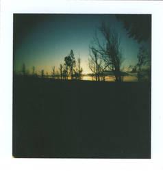 89 - Dark Matter Sunset by karllong