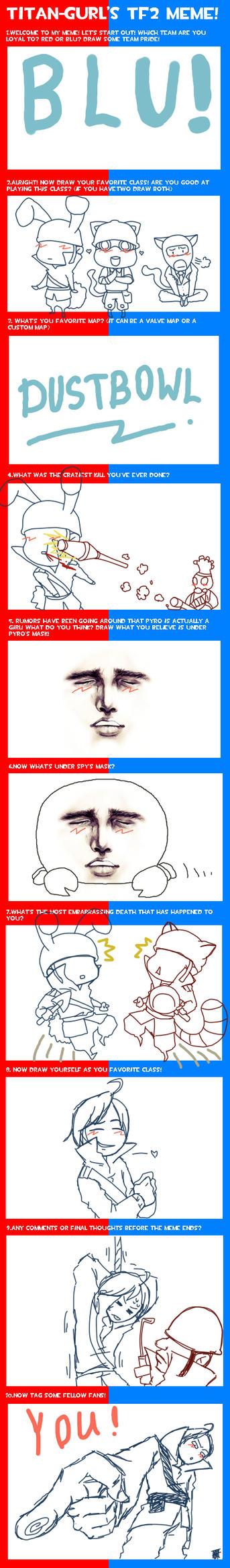 Team Fortress Meme by Titan_gurl by TMGR-COMICS