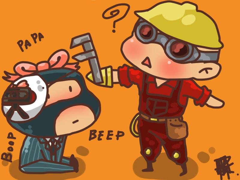 TF2: Beep boop by TMGR-COMICS
