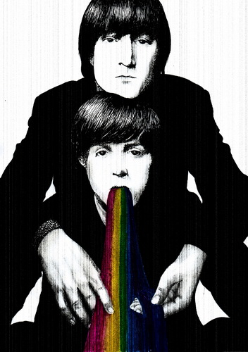 John and Paul by alexandra-mainea
