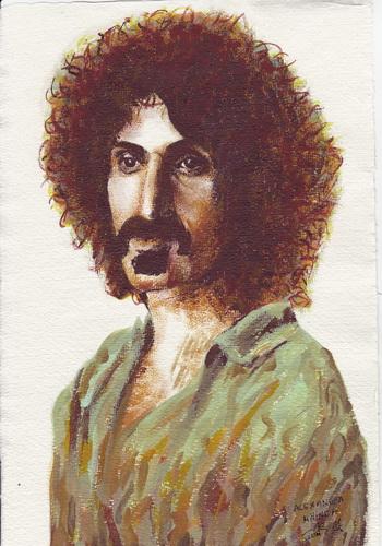 Frank Zappa by alexandra-mainea