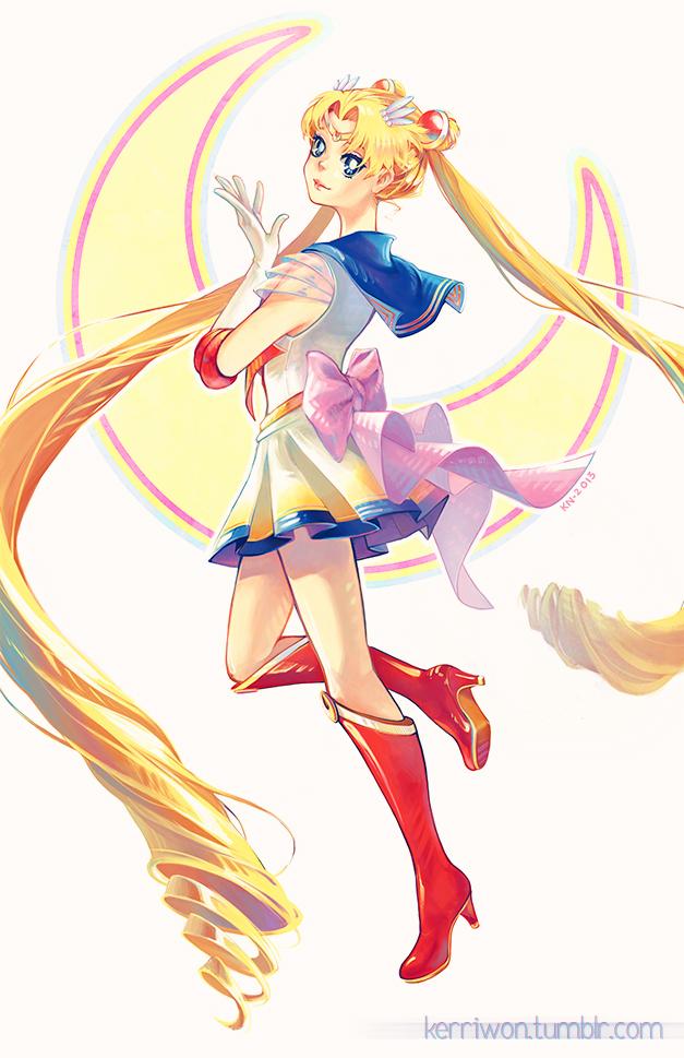 Super Sailor Moon by Kerriwon