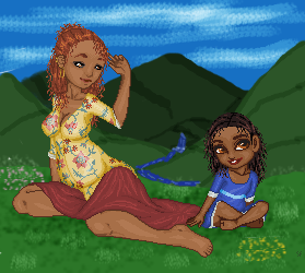 Maiden + Mother by mostnobleblack