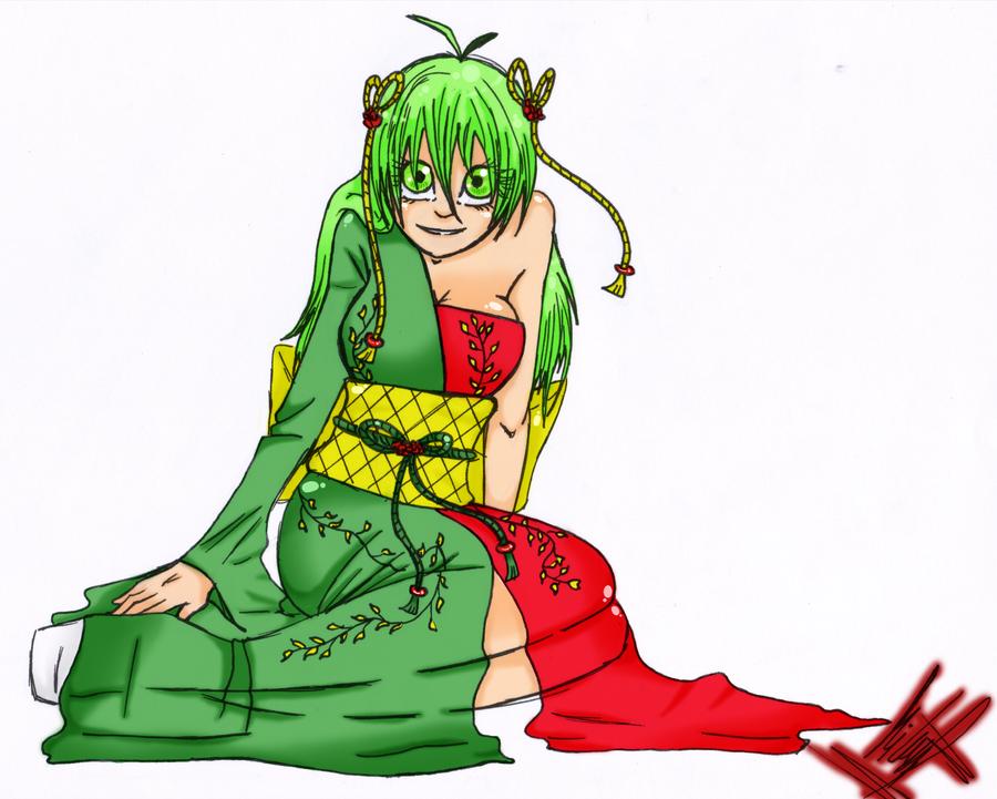 MangaPT Contest - Mieko by RiriTheHedgehog