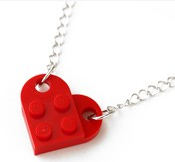 Lego Necklace by CreamTroll