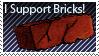 Brick supporter stamp by HMSpeedFreek