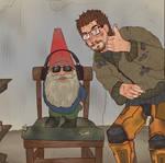 Cursed Gnome |Half Life Fanart