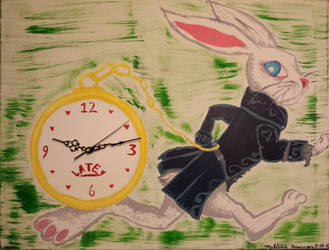 White Rabbit Clock by BoogieBoyLock