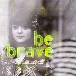 Be brave - A diptych