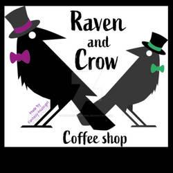 Raven and Crow Coffee Shop logo